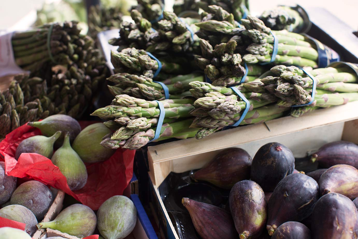 Figs and Asparagus