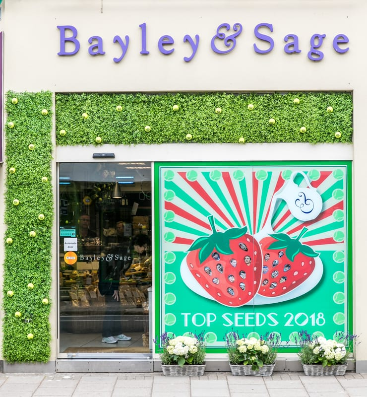 Village Tennis Window Competition In SW19! Please Vote For Us!