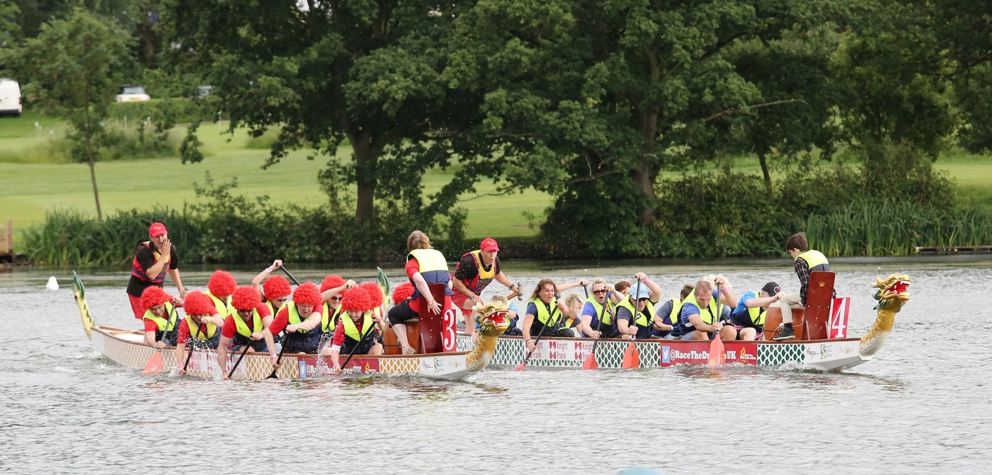 Bayley & Sage Dragon Boat Race In Aid Of Momentum Children's Charity