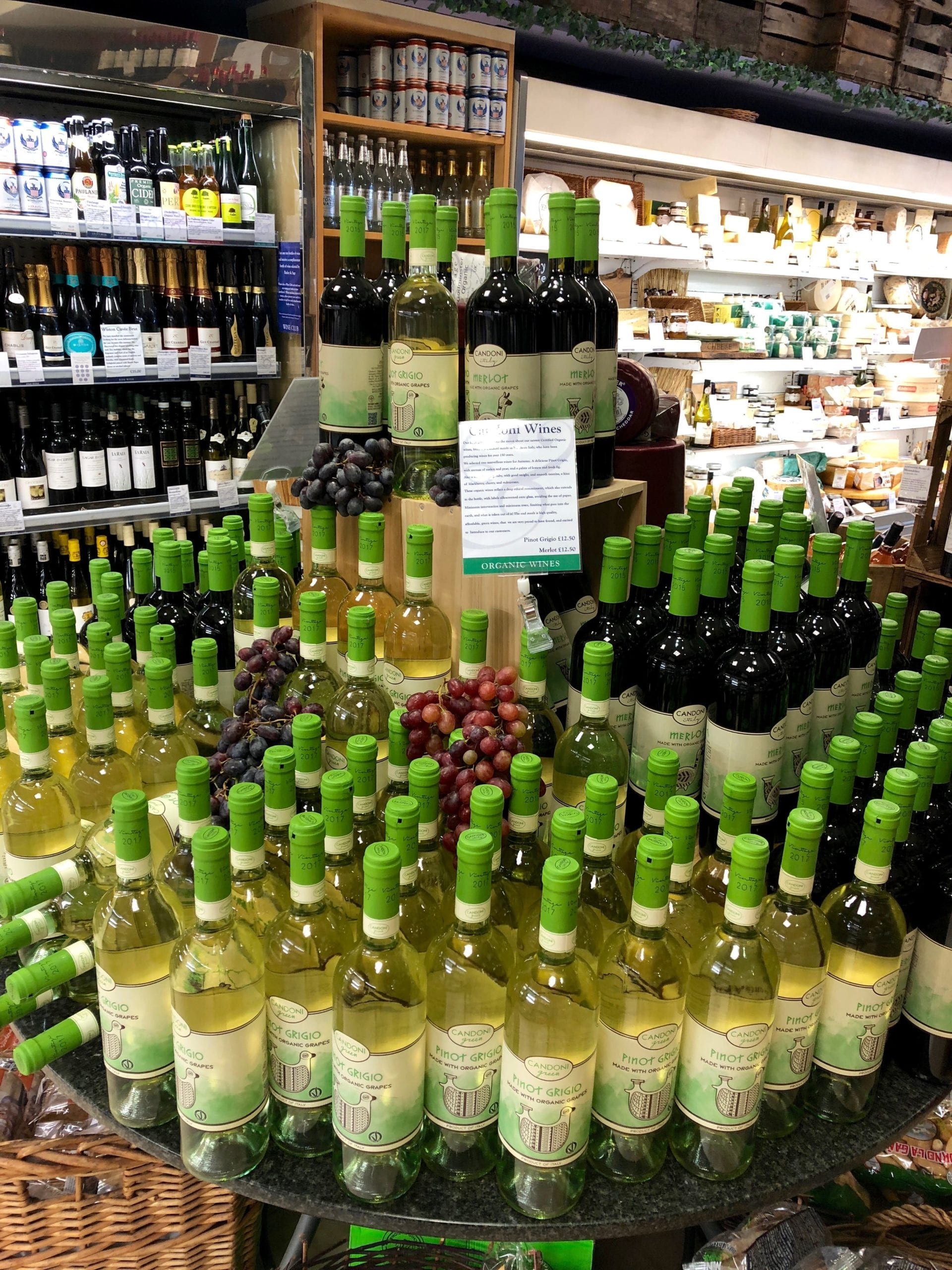New Organic Wines In Store