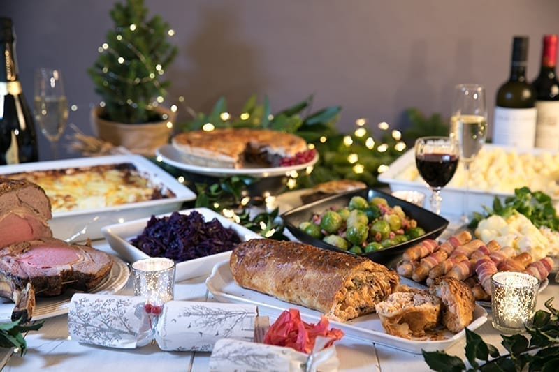 Christmas Turkey, Food & Wine Ready To Order Online Now!