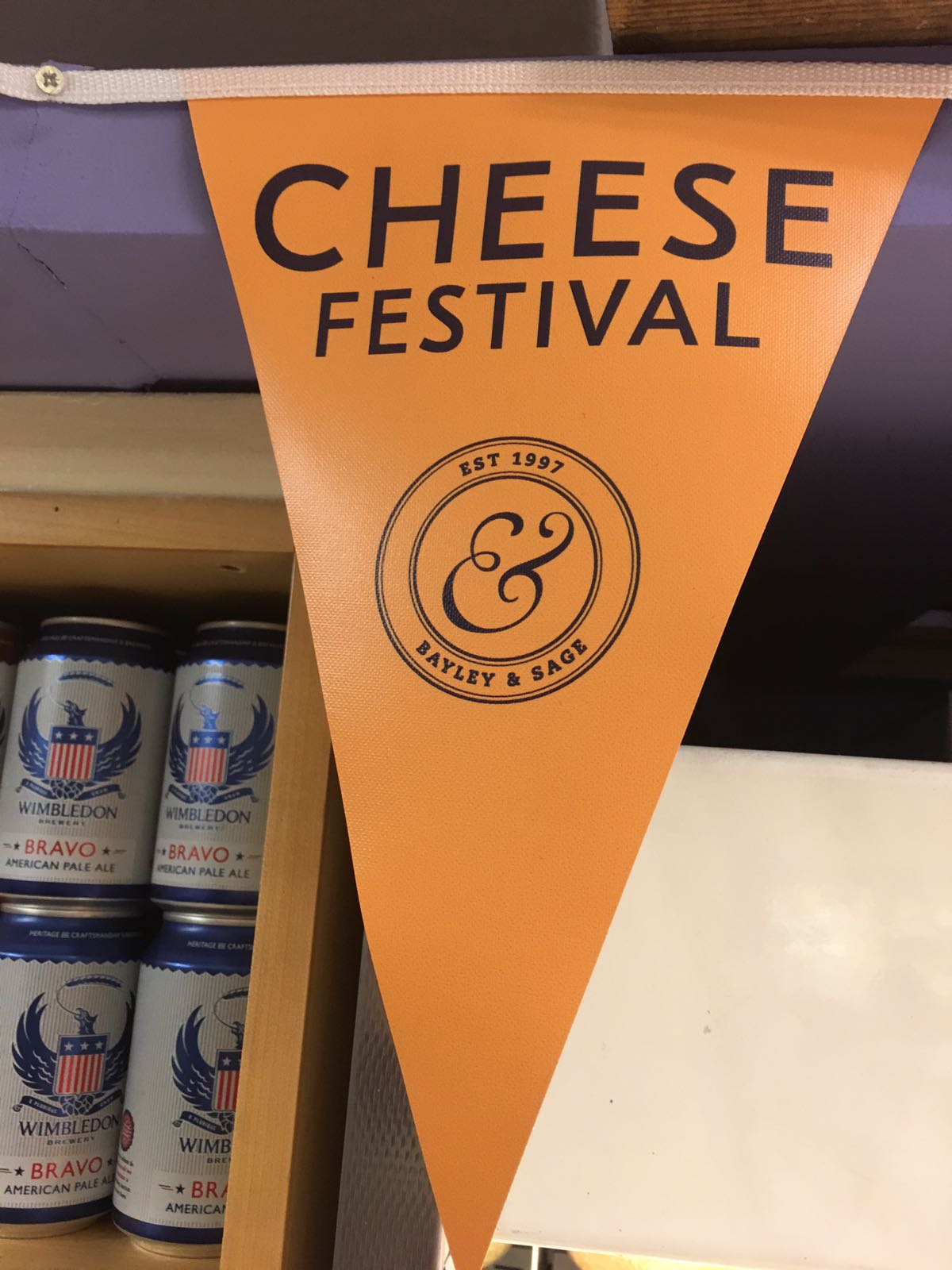 British Cheese Festival Tasting Schedule